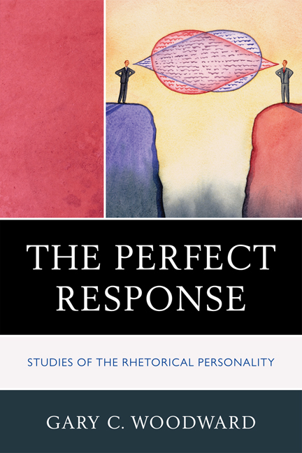 "Gary C. Woodward's new book, ""The Perfect Response"""