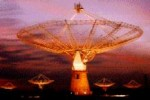 Giant Metrewave Radio Telescope (GMRT) of Gopal, India
