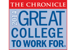 "The College of New Jersey named a ""2014 Great College to Work For"""