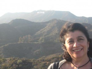 Rosa Zagari-Marinzoli, in the Hollywood hills.