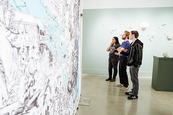 TCNJ's spring art exhibit inspires us to look at water differently