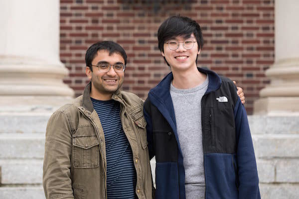 2 TCNJ students named 2019 Goldwater Scholars
