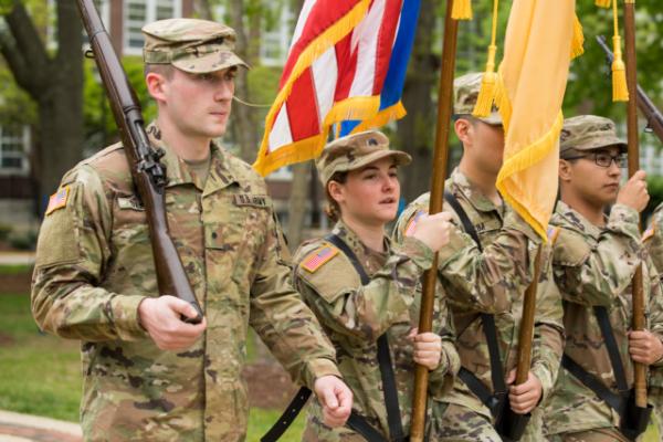 ROTC experience proves transformative for TCNJ senior