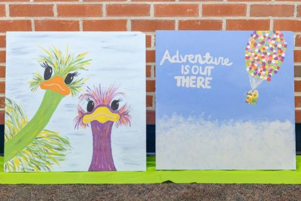 Local college student's painting project gives back to children's hospital that saved her life — NJ.com