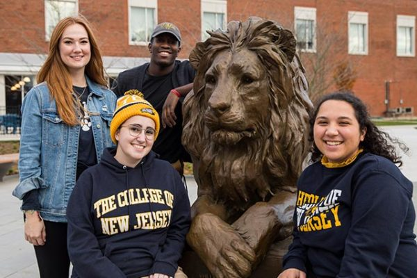 Lions show their pride during TCNJ's fifth annual Day of Giving