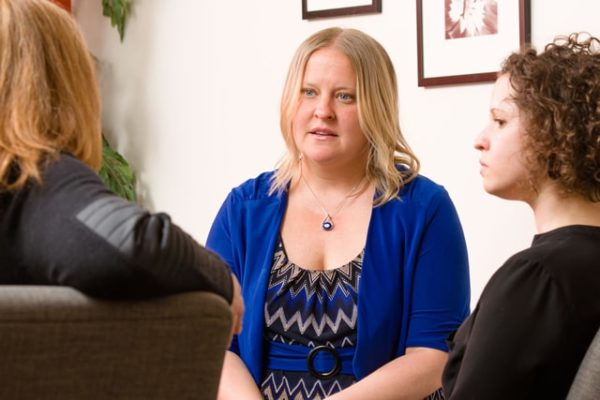 Pioneers in bringing a promising PTSD treatment to survivors of domestic violence, Jill Schwarz and her grad students hope to spread it statewide