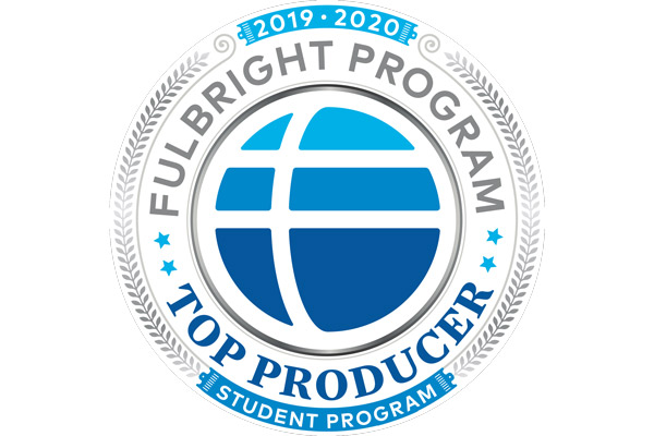 TCNJ named a top producer of Fulbright students for 2019–2020