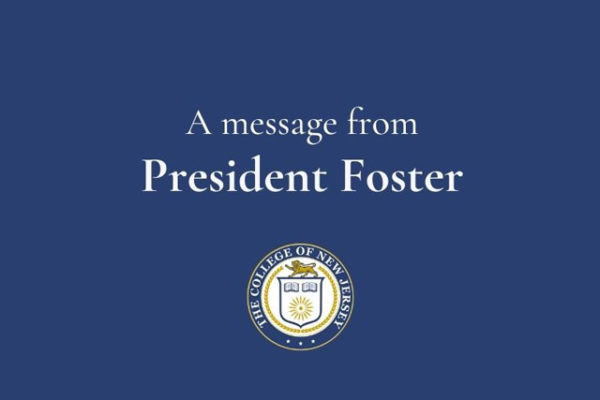 A brief reflection on yesterday's events: A message to the campus community from President Foster