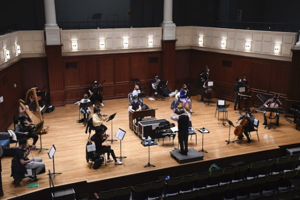 TCNJ performing arts program leverages hard science to welcome back students